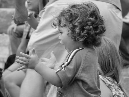 幼児, スポーツ観戦