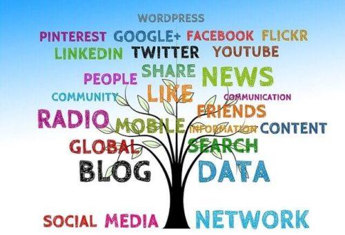 ソーシャルメディアのイメージ画像